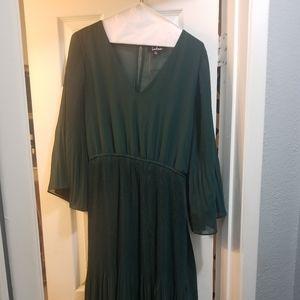 Green Lulu's Dress